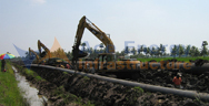 """Read more about the article Installation of 24"""" Pipeline as part of East West Pipeline Project"""